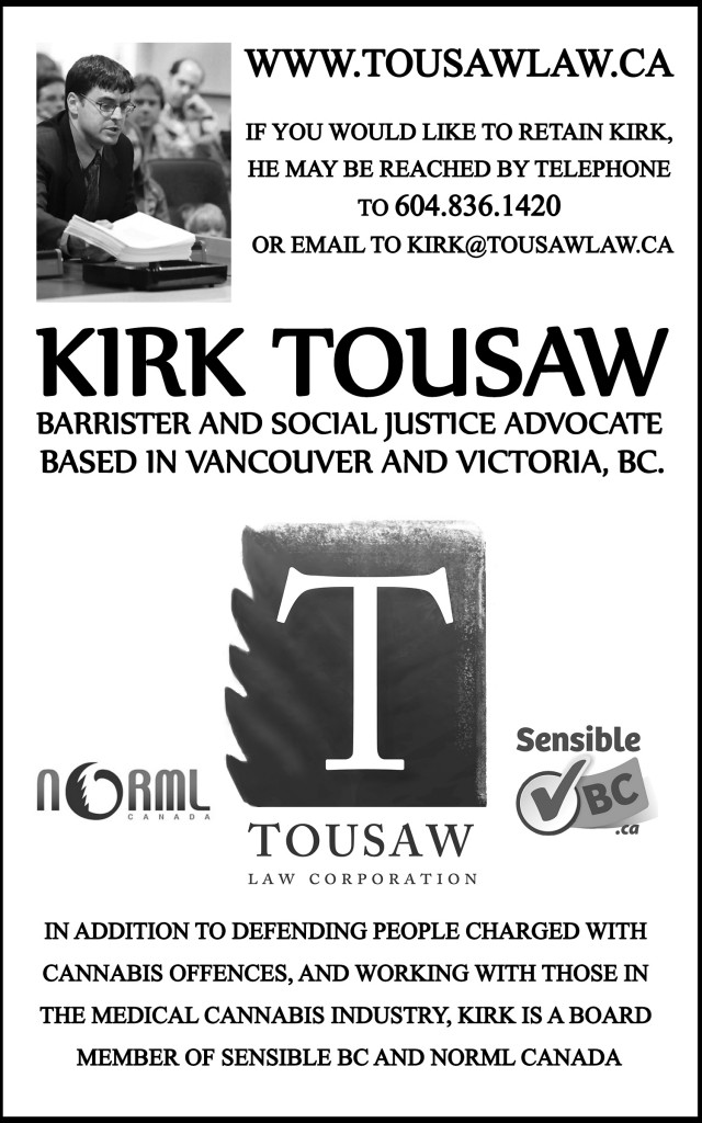 Kirk Tousaw Ad update