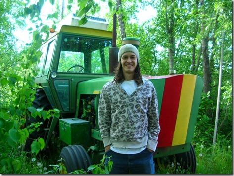Blake, Rasta Tractor