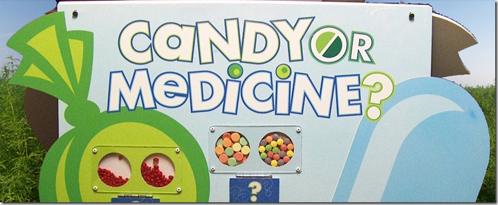 Candy or Medicine Board