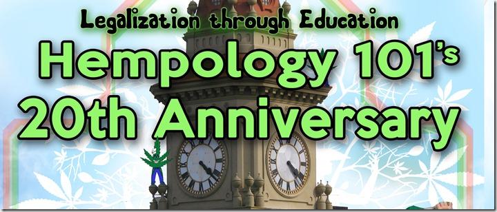 Hempology's 20th Anniversary thin