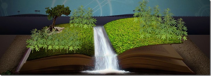 strange weed-book