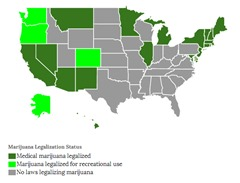 Marijuana map online version