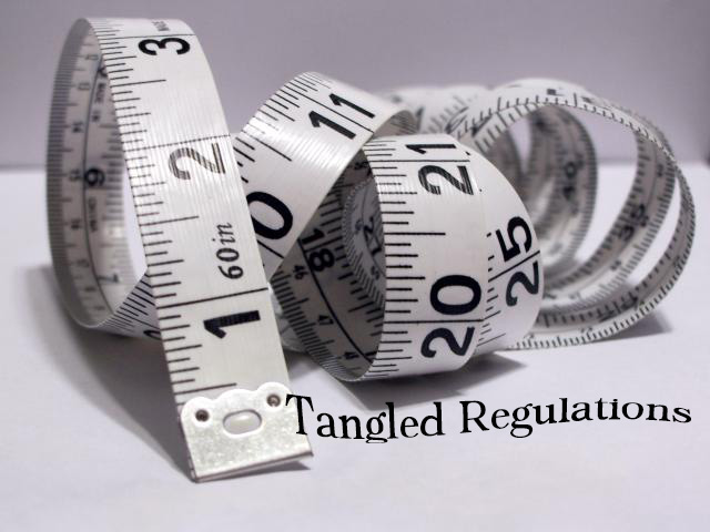 Tangled regulations