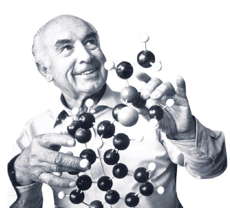 Albert-Hofmann-lsd molecule